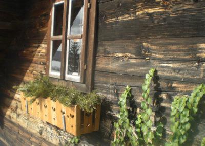 Kaminzauberhütte Dekoration
