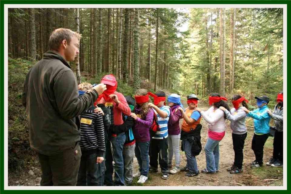 Mit dem Waldpädagogenn